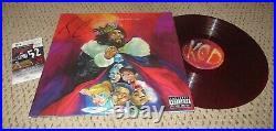 J Cole Signed Album Autograph Jsa Record Vinyl Kod Auto Rap Hip Hop Dreamville