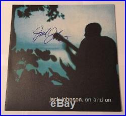Jack Johnson Signed On And On Album LP Vinyl Autograph