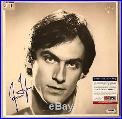 James Taylor Signed Vinyl Record Album Autograph Your Smiling Face PSA/DNA COA