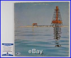 Jimmy Buffett Signed Autograph Record Vinyl Album Beckett BAS Havana Daydreamin