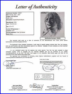 John Denver I Want To Live Signed Autograph Record Album JSA Vinyl