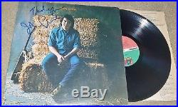 John Prine Signed Vinyl Record Lp Album With Thank You Ins. +coa 1971