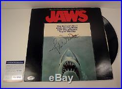John Williams Signed Autograph Jaws Soundtrack Vinyl Record Album Psa/dna Coa
