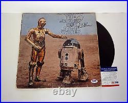 John Williams Signed The Story of Star Wars Vinyl Record Album PSA/DNA COA