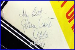Johnny Cash & June Carter Cash Signed & Framed Album Cover With Vinyl BAS #A86794