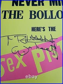 Johnny Rotten Signed Album Vinyl LP Bollocks Sex Pistols JSA Autograph