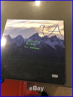KANYE WEST SIGNED Im Bipolar ALBUM VINYL IP. 2019 W COA Proof