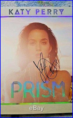 Katy Perry Prism Signed Lp Vinyl Album Psa/dna