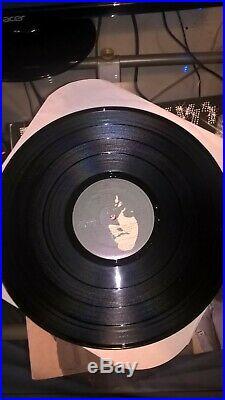 KISS First KISS Last Licks signed promo vinyl album 1990. LIMITED PRESS of 800