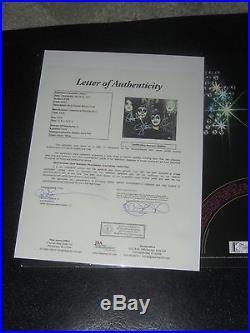KISS SIGNED 1ST ALBUM LP VINYL (JSA) CD live program psa poster authentic rare