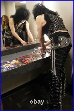 KISS Signed Album Ace Frehley Paul Stanley Gene Simmons Autograph Vinyl Dynasty
