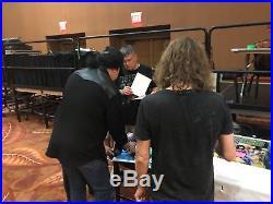 KISS Signed Album Gene Simmons Paul Stanley Ace Frehley Criss Autographed Vinyl