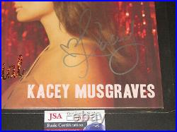 Kacey Musgraves Autographed Signed Vinyl Record Album Pageant Material JSA COA