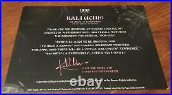 Kali Uchis Signed Deluxe Sin Miedo Vinyl Lp Album +cocktail Card
