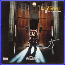 Kanye West Autographed Late Registration Vinyl Album Sleeve JSA Authentic
