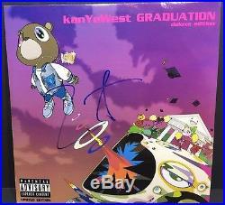 Kanye West Signed Graduation Vinyl Album Record The Life Of Pablo Yeezy Jsa