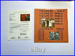 Kanye West Signed The Life Of Pablo Vinyl Album Lp Autograph Jsa Coa Ye Yandhi
