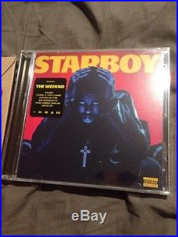 Kanye West Signed Vinyl Album PSA/DNA And The Weeknd Signed 8x10 Starboy Auto
