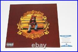 Kanye West Signed'the College Dropout' Vinyl Record Album Lp Beckett Coa Bas