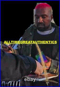 Kanye West Signed'yeezus' Vinyl Record Album Lp Jesus Is King Beckett Coa Bas
