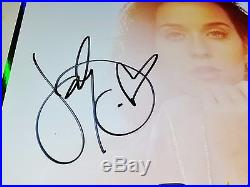 Katy Perry Signed Vinyl Record Lp Album +coa Prism Witness Teenage Dream