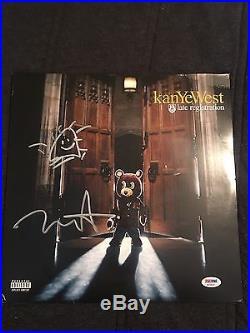 Kayne West Signed Autographed Late Registration Album With Vinyl. PSA/DNA AC54327