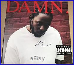 Kendrick Lamar Damn vinyl LP + SIGNED album sleeve NEWithSEALED