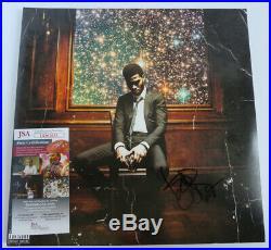 Kid Cudi Signed Album Lp 12 Vinyl Man On The Moon 2 The Legend Of Mr Rager Jsa