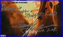 Kill Bill 2 Sonny Chiba JSA Signed Autograph Album LP Record Vinyl Soundtrack
