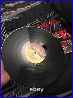 Kiss Alive II Vinyl LP Signed Paul Stanley Autograph Album