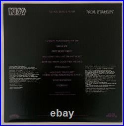 Kiss Paul Stanley Signed Autograph Box set solo album with Purple vinyl JSA or PSA
