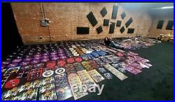 Kiss Paul Stanley signed box set solo album with purple vinyl not aucoin