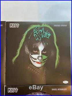 Kiss Signed Album/record/vinyl By all 4 members Rare JSA/PSA