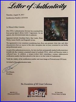 Korn Signed Autographed By All 5 Jonathan Album Vinyl Freak On A Leash Psa/Dna