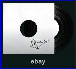 Kylie minogue Signed Limited Edition Test Pressing'Disco' Vinyl White Album LP