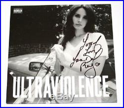 LANA DEL REY SIGNED'ULTRAVIOLENCE' VINYL RECORD ALBUM withCOA PROOF LOTS OF LOVE