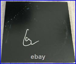 LARS ULRICH SIGNED AUTOGRAPH METALLICA THE BLACK ALBUM VINYL RECORD wEXACT PROOF