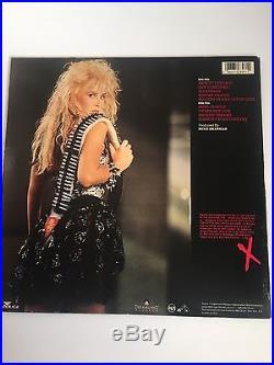 LITA FORD signed Lita LP ALBUM VINYL Record The Runaways Joan Jett EXACT PROOF