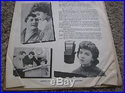 LP ALBUM VINYL ANNETTE SINGS ANKA- RECORD & AUTOGRAPHED 8 x 10 PHOTO