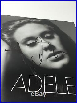 L@@K ADELE SIGNED AUTHENTIC AUTOGRAPH 21 VINYL LP ALBUM PSA DNA PSA/DNA WOW