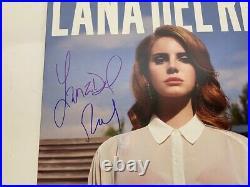 Lana Del Rey Signed Autographed Born To Die Vinyl Record Album LP Beckett COA