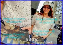 Lana Del Rey Signed Paradise 12x12 Album Cover Photo No Vinyl EXACT Proof JSA