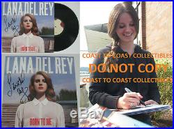 Lana Del Rey signed autographed Born to Die Album, Vinyl Record, COA exact Proof