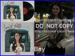 Lana Del Rey signed autographed Lust for Life album, Vinyl Record, COA exact Proof