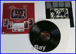 Lars Ulrich METALLICA Signed Autograph Master Of Puppets Album Vinyl Record LP