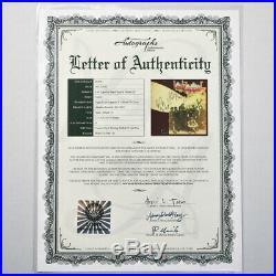 Led Zeppelin Signed Vinyl Record Led Zeppelin Album II Great Condition