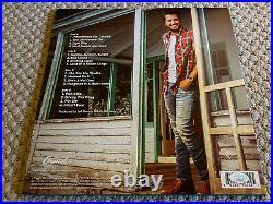Luke Bryan What Makes You Jsa Signed Autograph Vinyl Lp Album Pleaseread