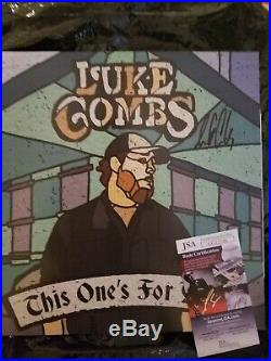Luke Combs Autographed Vinyl Album Jsa Certified Auto Autograph Signed
