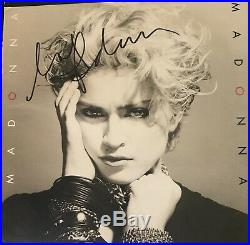MADONNA SIGNED Autographed Lp Album Vinyl MADONNA