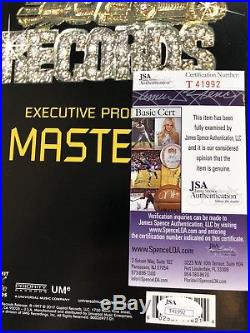 MASTER P signed VINYL RECORD 12 LP GHETTO D Dope Rap Rapper Album No Limit JSA